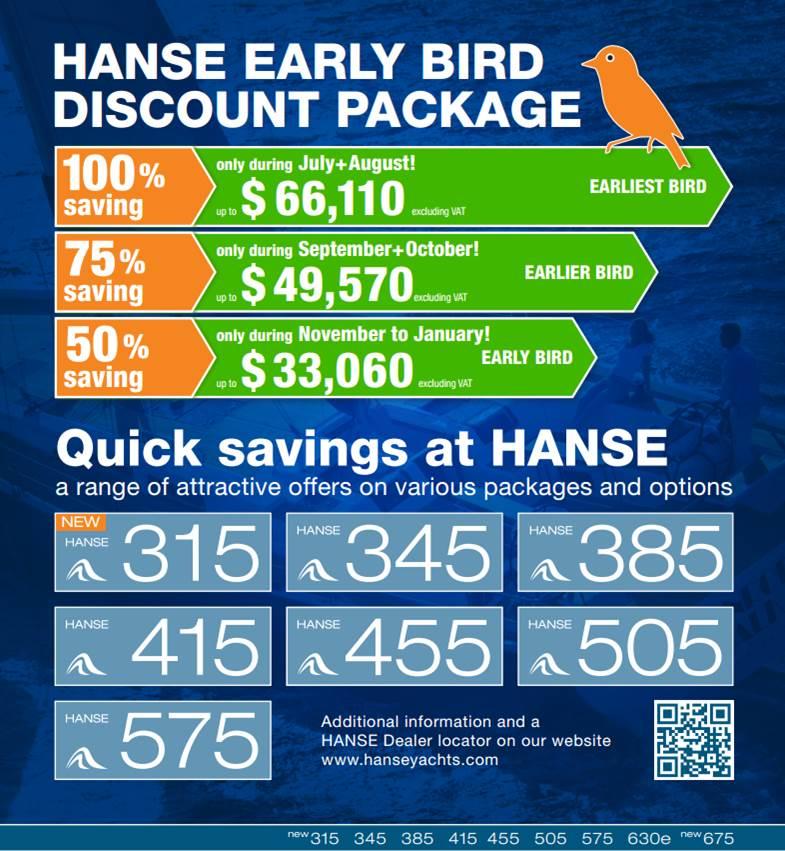 Hanse dealer - Discount